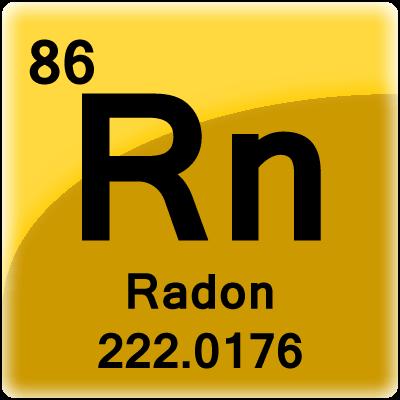 Radon - tavola periodica